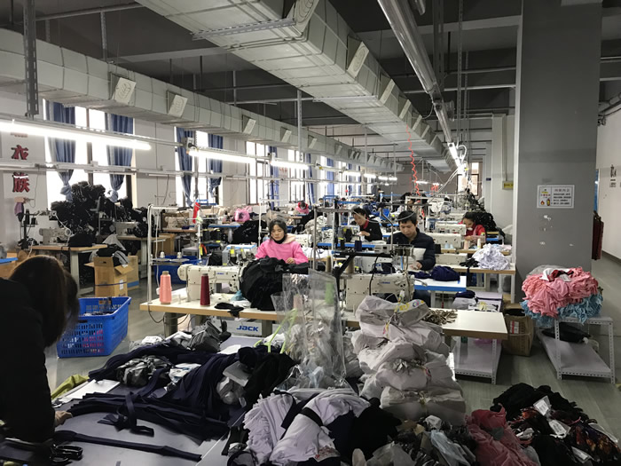 China underwear factory